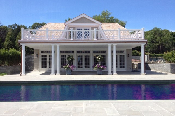 Hamptons architect, New York architect, Bridgehampton poolhouse