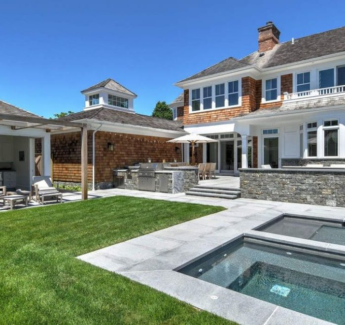 Hamptons architect, New York architect, Pool Pavilion at Bellows Court